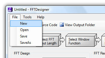 FFT Designer - Creating FFT code for the MSP430